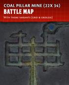 Coal Pillar Mine - Battle Map (22x34)