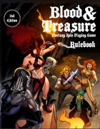 Blood & Treasure 2nd Edition Rulebook