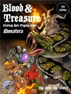Blood & Treasure 2nd Edition Monsters