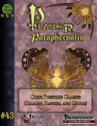 Player Paraphernalia #43 Core Prestige Classes (Paladin, Ranger, and Rogue)