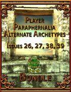 Player Paraphernalia Alternate Archetypes I [BUNDLE]