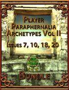 Player Paraphernalia Archetypes Vol II [BUNDLE]