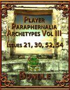 Player Paraphernalia Archetypes Vol III [BUNDLE]