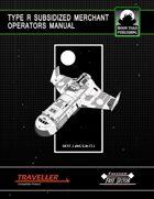 Type R Subsidised Merchant Operators Manual