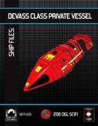 Ship Files: DeVass Class Private Starship