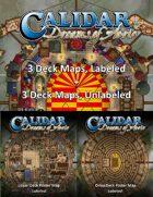 CA1 Six Deck Maps [BUNDLE]