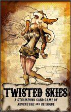 Twisted Skies Steampunk Card Game
