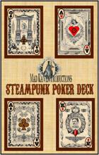 Mad Raven Steampunk Poker Deck