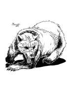 OE Stock Art - Zombie Bear (or Skin Husk)
