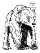 OE Stock Art - Bearskin Rug Guardian (Animate Object)