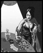 OE Stock Art - Female Gambler