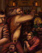 OE Stock Art - Bar Fight