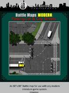 Battle Maps MODERN:  Parking Lot & City Streets
