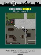 Battle Maps MODERN: Modern Home I