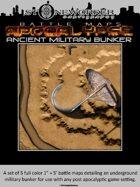 Battle Maps APOCALYPSE:  Ancient Military Bunker (Set)