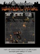 Battle Maps APOCALYPSE:  Wasteland Ruins IV