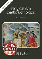 Magic Item Cards Template