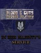 Blood and Guts 2: In Her Majesty's Service