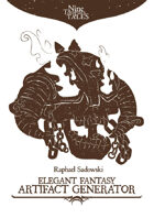 Elegant Fantasy Artifact Generator