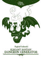 Elegant Fantasy Dungeon Generator