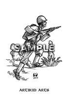 Running US Marine