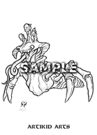Mutant Tongue Crab