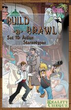 Build-a-Brawl Set 10: Action Stereotypes