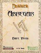 Abregar Race Book - Dravakor