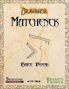 Matchenck Race Book - Dravakor