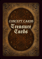 Concept Cards - Treasures