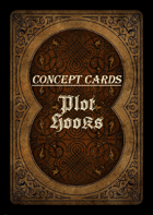 Concept Cards - Plot Hooks