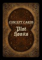 Concept Cards - Plot Hooks Bundle [BUNDLE]
