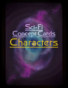 Sci-Fi Characters - Concept Cards