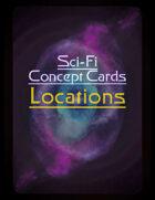 Sci-Fi Locations - Concept Cards