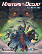 Masters of the Occult: Play Manga d20
