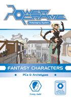 PowerFrame Fantasy Characters