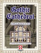 Gothic Cathedral: Large Basilica Set
