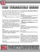 POSTMODERN: The Versatile Hero