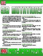 POST-APOCALYPTIC: 20 Mutations