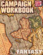 Campaign Workbook (Fantasy)