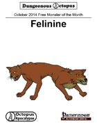14-10 Free Monster of the Month: Felinine