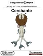 15-01 Free Monster of the Month: Cershante