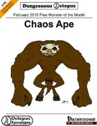 15-02 Free Monster of the Month: Chaos Ape
