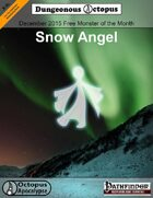 15-12 Free Monster of the Month: Snow Angel