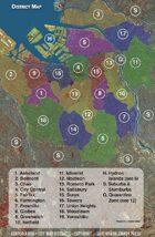 Corporia: City District Map