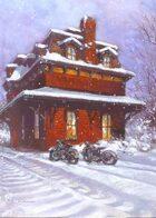 Christmas Junction Poker Deck