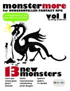 MonsterMore for Dungeonteller Fantasy RPG