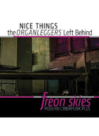 Freon Skies Cyberpunk: 100 Nice Things the Organleggers Left Behind