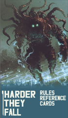 Harder They Fall - Rules Reference Cards