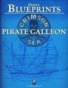 0one's Blueprints: Crimson Sea - Pirate Galleon